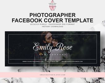Facebook banner etsy facebook cover template facebook template facebook banner facebook cover photographer photoshop template pronofoot35fo Choice Image
