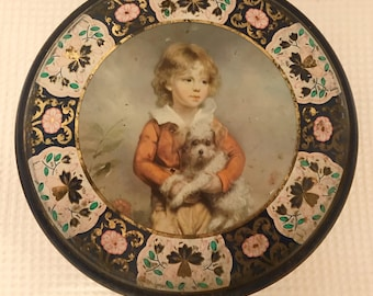 Victorian Cookie Tin