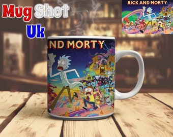 Rick and Morty Style Coffee Mug Fan Gift