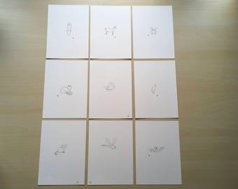 Original Hand Drawn Illustrations
