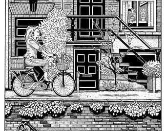 Spring in Amsterdam (Signed Prints)