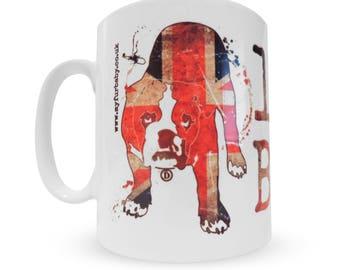 Limited Edition Bulldog Mug: Life is Better with a Bulldog Union Jack