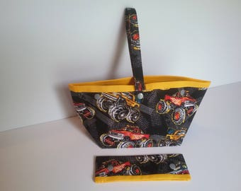 Monster Truck 2 skein bag
