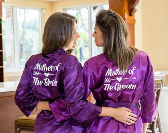 SALE! Bridesmaid Robes , Silk robes, Getting ready robes, Bridesmaid Gifts, Wedding robes, Bridal robes, Gifts for bride, Bride robe