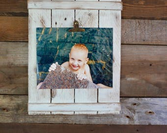 Rustic photo frame/rustic home decor/wall decor