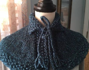 Claire's Hunt capelet, Outlander shawl, Claire's cape, Sassenach cape