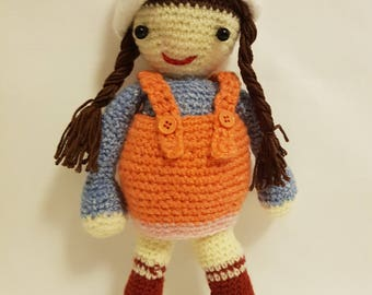 Maya crocheted doll