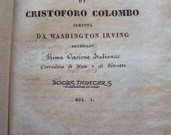 Cristoforo Colombo-History of life and travel-Washington Irving