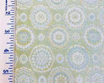 Upholstery Fabric from Fabrics That Go! Print/Pattern/Green/Blue