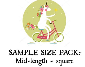 Sample Size Pack - Mid-length Square