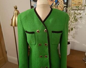 Green Vintage Suit Jacket