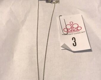 Lovely silver necklace