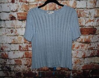 90's Light Blue Shirt size Medium