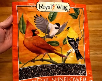 Recycled Birdseed Tote Bag