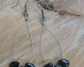 Teardrop Labradorite Earrings