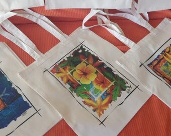 Printed Fabric Bags