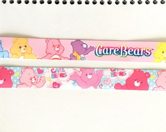 "Care Bears 7/8"" 22 mm Grosgrain Ribbon for Hair Bows Scrapbooking Crafts Party Cake Birthday Decoration"
