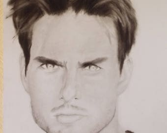 Drawing of tom cruise