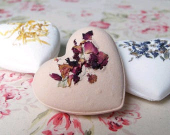 Heart Bathbombs Buy 4 get 1 free