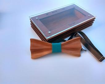 Sacramento Handmade Wooden Bowtie