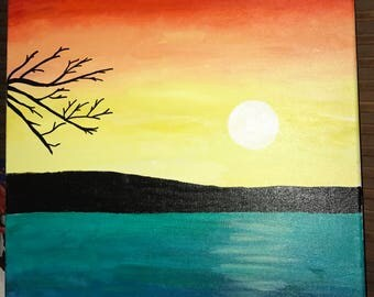 Painting: Sunset