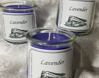 5 oz Natural Soy Wax Candle - Lavender