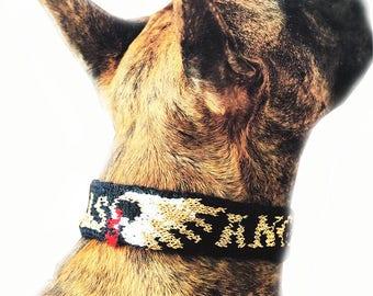 Dog Collar  - All Sizes, Knitting Pattern