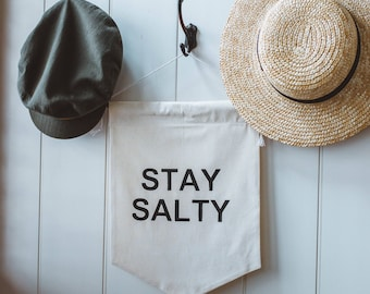 STAY SALTY Wall Hanging