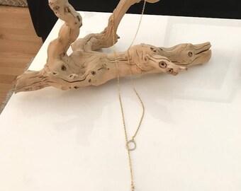 The Swarovski Lariat Necklace