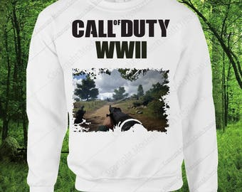 Call Of Duty WWII Sweatshirt-Best Gift For COD Gamer