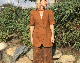 Vintage Jones New York short sleeve blazer