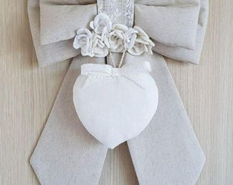 Ribbon out Door Shabby Chic