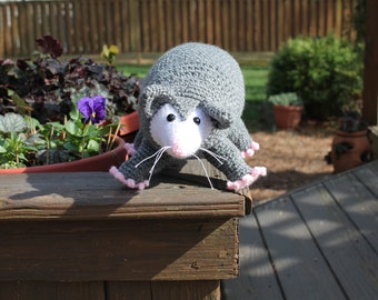 Cute Possum Crochet