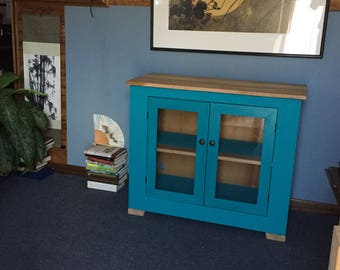 Low Cabinet in Teal