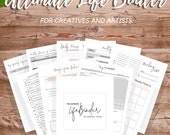 Ultimate Life Binder, Goal Planner, Printable Planner, Daily Planner,Weekly Planner,To Do List,Budget,Habit Tracker,Finances,A4,A5,US Letter