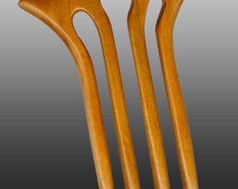 Baerreis Hair Fork Nautilus Style Cherry Choose length