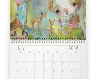Magical Year - 2018 Wall Calendar