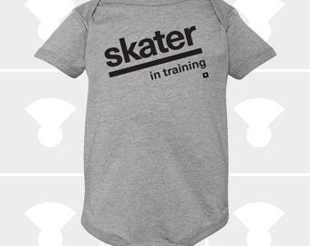 Skater In Training - Baby Onesie