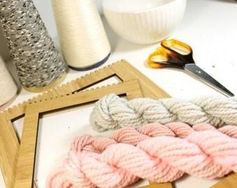 winter love   ... handspun yarn set, weaving creative yarn bundle, hand spun, hand dyed yarn, handspun art yarn
