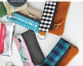 Mini Clutch Coin Purse PDF Sewing Pattern / Coin Purse Pattern
