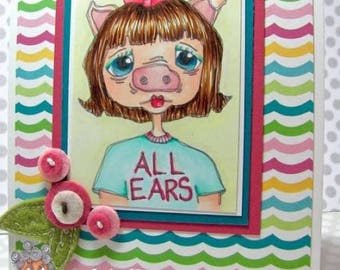 1573 All Ears Digi Stamp