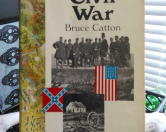 The Civil War Paperback book by Bruce Catton American History Civil War Books Free Shipping