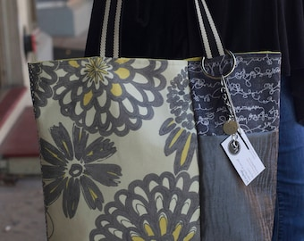 """TheChaser Tote """"Bloomin""""/ Shoulder Bag/ Fabric Bag/ Carry-All Bag"""