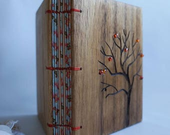 Journal from reclaimed wood Tree