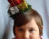 Ugly Christmas Headband Tacky Presents Ornaments Headband Ugly Party Accessories Tacky Christmas Free Shipping Sparkly Hair Band Xmas