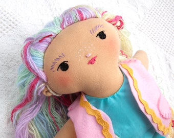 Rainbow Darling Doll