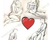Valentine's Day Card, Erotic, Mature - Valentine