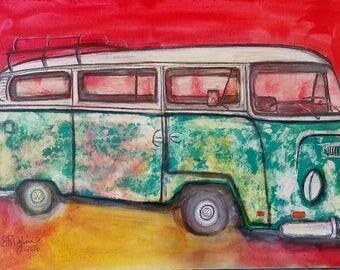 Just Cruisin, Van, 8 x 10 PRINT
