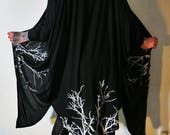 Hell Couture Black Lavinia Slouch Cardigan