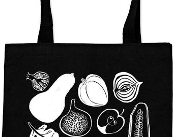 Fruit and Vegetable Everyday Tote